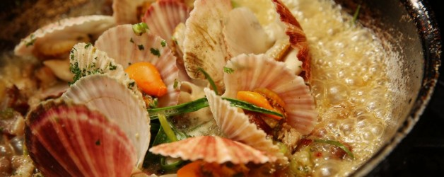 The beloved pink scallop resurfaces — deliciously