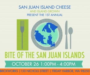 "Join JFF at 1st annual ""Bite of the San Juan Islands"" on October 26"